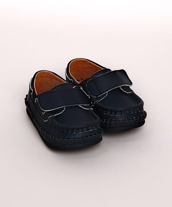 Navy Loafer