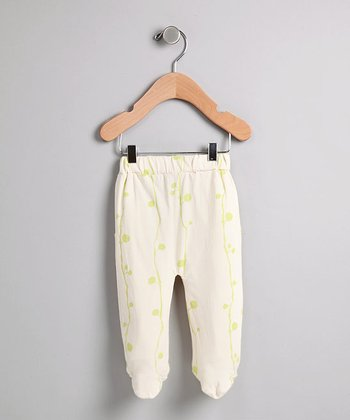 Berry Print Footie Pants - Infant
