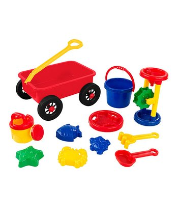 Wagon Sand Toys Set