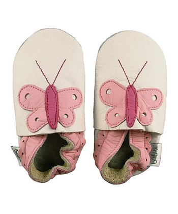 Pink Butterfly Shoes