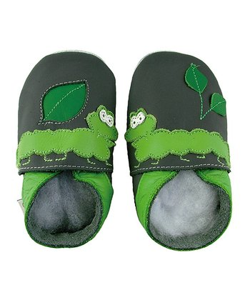 Green Caterpillar Shoes