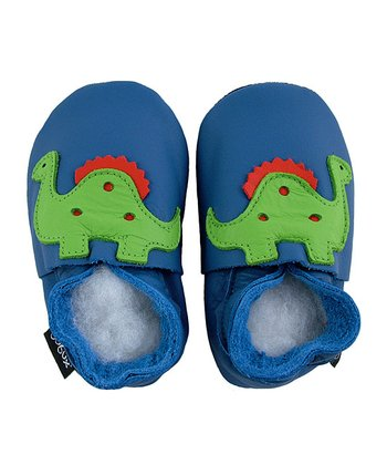 Blue Dinosaur Shoes