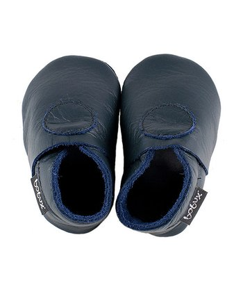 Navy Newborn Shoes