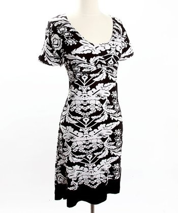Flower Print Nursing Dress