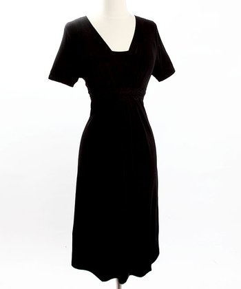 Black Celebrations Nursing Dress