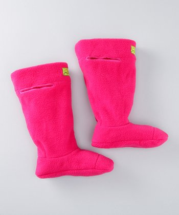 Magenta Fleece Boot Liners