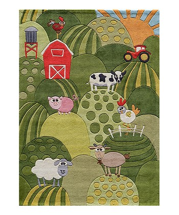 Grass Farmhouse Rug
