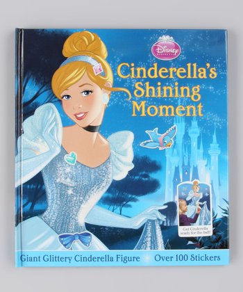 Cinderella's Shining Moment Hardcover Sticker Set