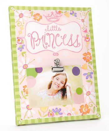 Pink 'Little Princess' Clip Canvas Frame