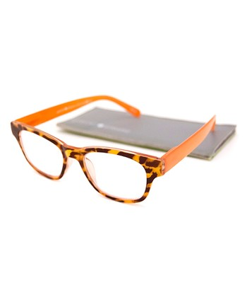 Orange Tortoise Jolie Readers