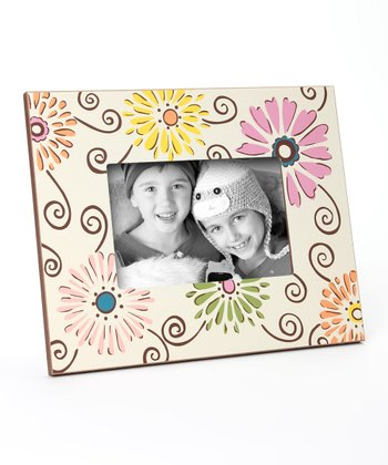 Brown Daisy Frame