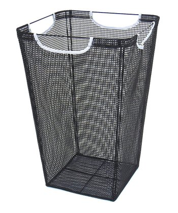 Black & Gray Water-Resistant Hamper