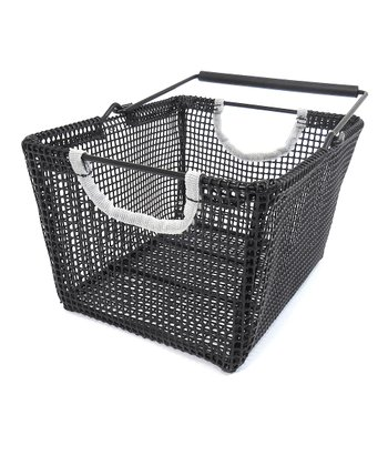Black & Gray Water-Resistant Shower Caddy