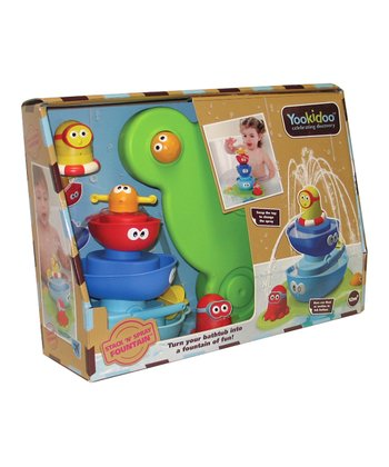 Yookidoo Stack 'N' Stream Tub Fountain Set