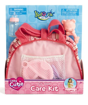 Cozy Cutie Lil' Doll Care Set