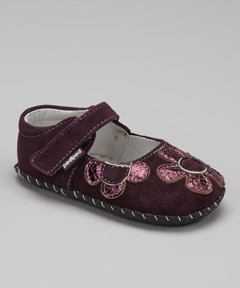 Purple Abigail Soft-Sole Mary Jane