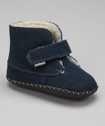 Navy Henry Soft-Sole Ankle Boot