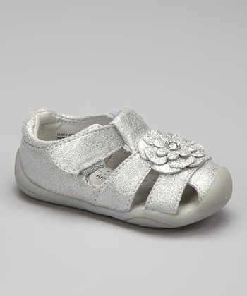 Silver Emme Closed-Toe Sandal