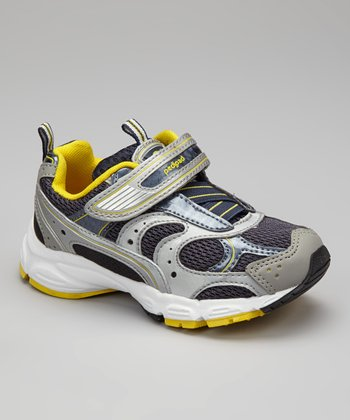 Navy, Silver & Yellow Saturn Sneaker