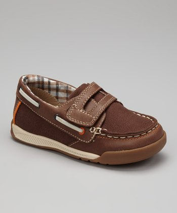 Brown Naples Boat Shoe