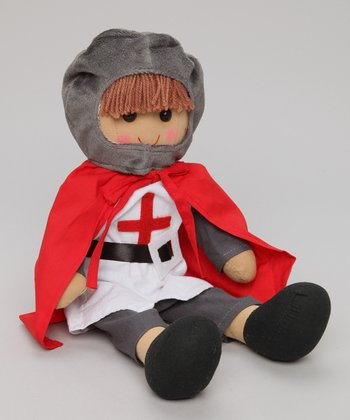 Red Knight Cape Doll