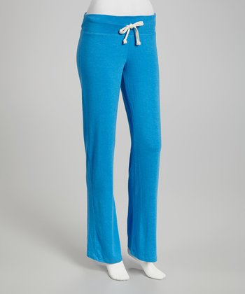 Azure Blue Lounge Pants - Women