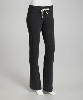 Black Lounge Pants - Women