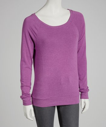 Lilac Sweatshirt - Women