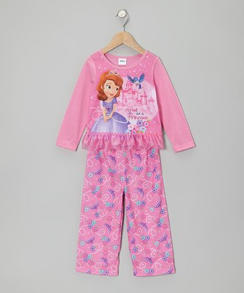 Pink Sofia Princess Pajama Set - Toddler