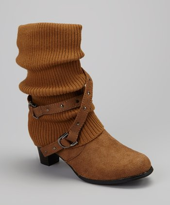 Tan Lizzy Heeled Boot
