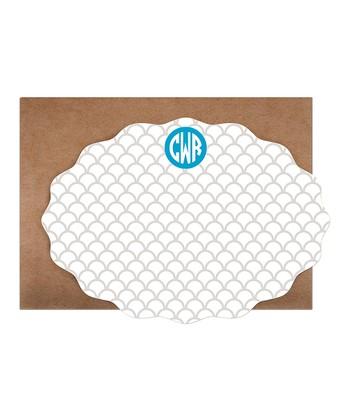 Moroccan Monogram Card & Envelope Set