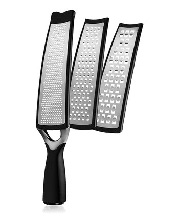 Black 3-in-1 Grater/Slicer