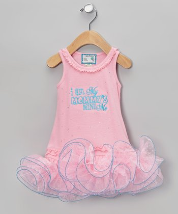 Pink 'Mommy's Mini Me' Tutu Dress - Infant, Toddler & Girls
