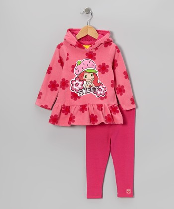 Pink Strawberry Hoodie & Pants