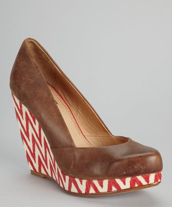 Brown Evelyn Wedge