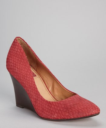 Red Madison Wedge