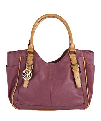 Raisin & Camel Claire Shoulder Bag