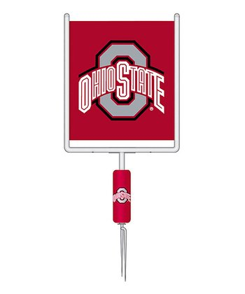 Ohio State Goalpost Garden Flag Set