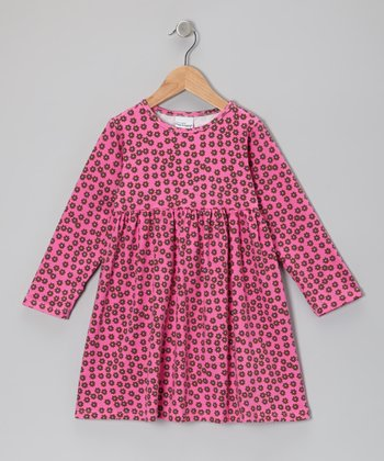 Pink Dancing Daisy A-Line Dress - Infant & Toddler