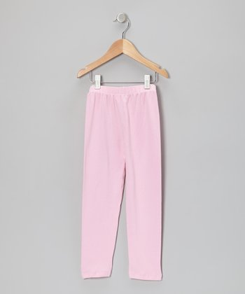 French Pink Solid Leggings - Infant, Toddler & Girls
