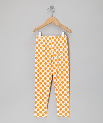 Mango Polka Dot Leggings - Infant, Toddler & Girls
