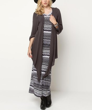 Gray Chantal Duster
