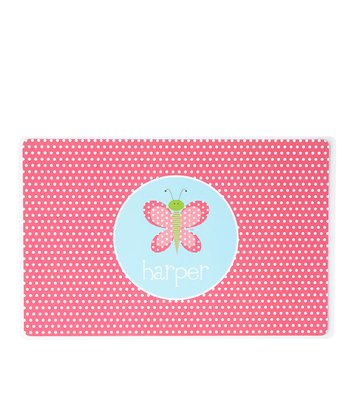 Butterfly Personalized Place Mat