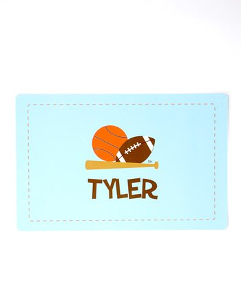 Sports Personalized Place Mat
