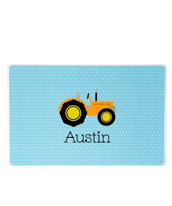 Tractor Personalized Place Mat