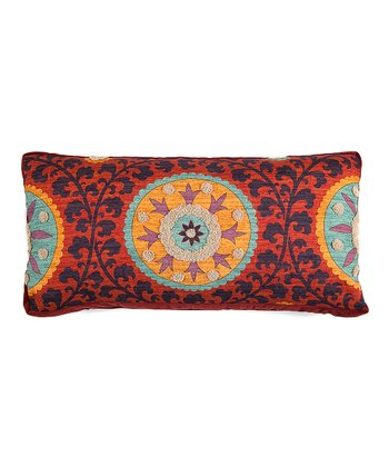 Rust & Orange Elise Throw Pillow