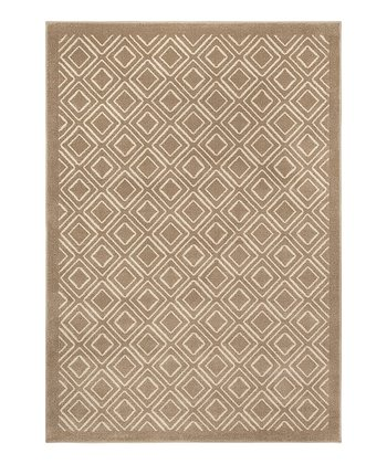 Gray Luxurious Diamond Servaline Rug