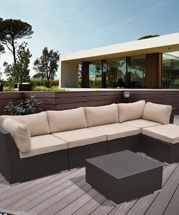 Perrone Deep-Seating Six-Piece Furniture Set