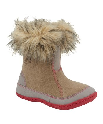 British Tan & Tusk Cozy Joan Boot - Kids