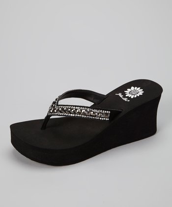 Pewter Alfreda Wedge Sandal